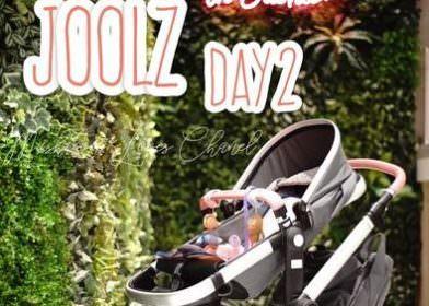 來自荷蘭高質感時尚的JOOLZ Day2 Tailor含嬰兒睡籃頂級客製推車